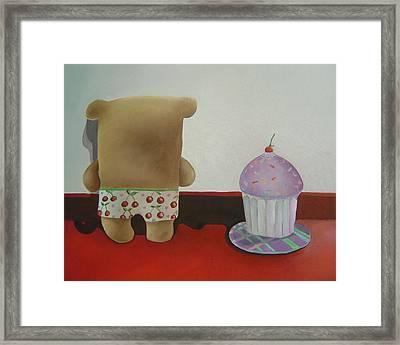 Friends 2 Framed Print by Anastassia Neislotova