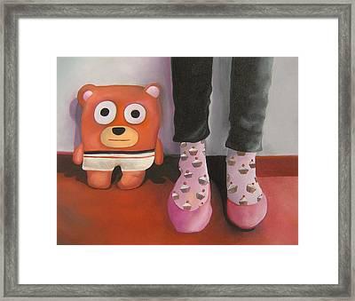Friends 3 Framed Print by Anastassia Neislotova