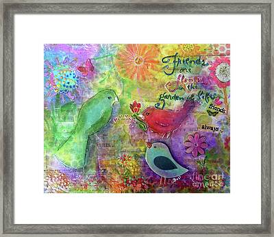 Friends Always Together Framed Print by Claire Bull