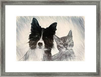Friends For Life Framed Print