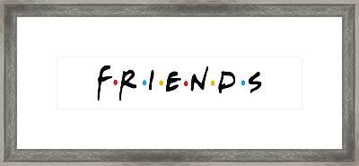 Friends Framed Print by Jaime Friedman