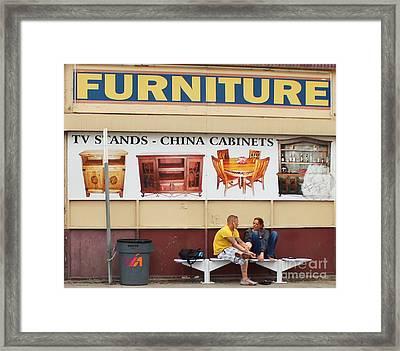 Friends Framed Print by Joe Jake Pratt