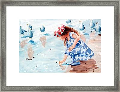 Friends - Prints From Original Oil Painting Framed Print