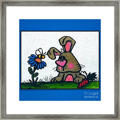 Friends Framed Print by MaryLee Parker