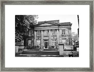 friends meeting house Manchester uk Framed Print by Joe Fox