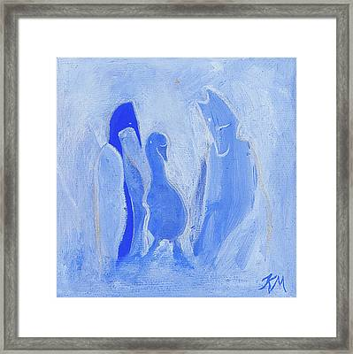 Friends Of The Light Framed Print by Kate Maconachie
