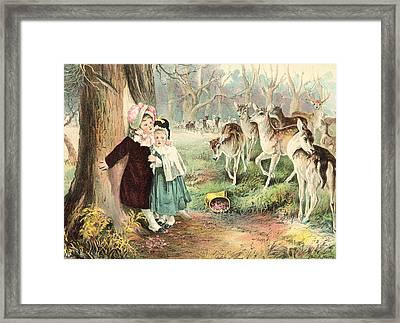Friends Or Foe Framed Print by Phil R Murray