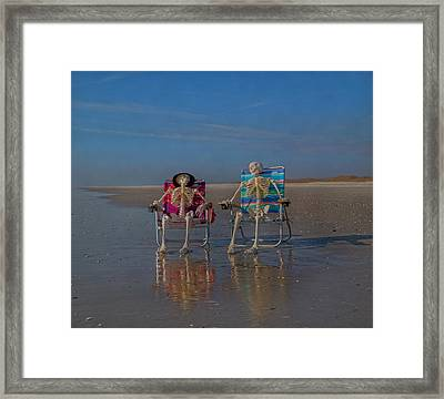 Friends Till The End Framed Print by Betsy Knapp