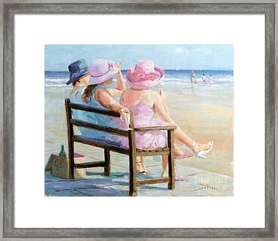 Friends Together Framed Print by Paul Milner