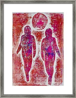 Friendship All Over Again  Framed Print