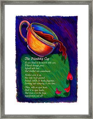 Friendship Cup Framed Print by Anne Nye