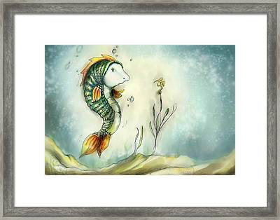 Friendship Framed Print by Hank Nunes