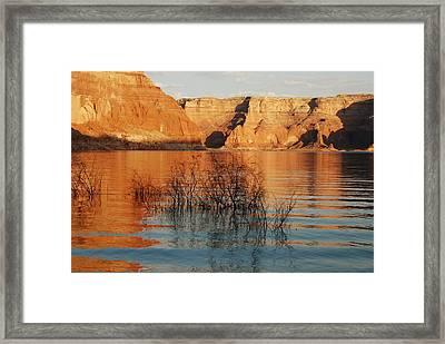 Friendship Sunset Framed Print