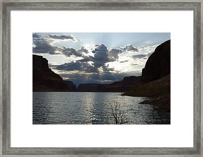 Frienship Sunrise Framed Print