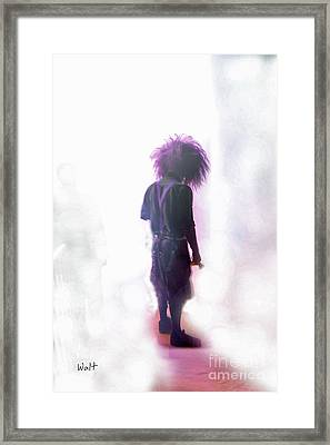 Frightdome Clown Framed Print