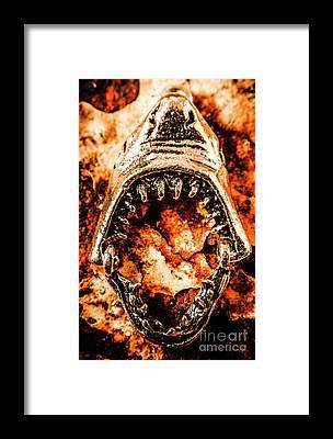 Metal Fish Framed Prints