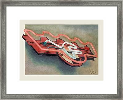 Frigidaire Framed Print by Van Cordle