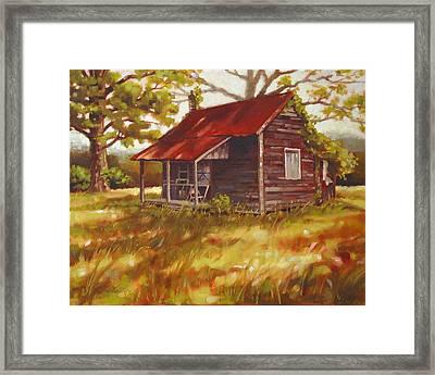Fripp Farm Framed Print by Todd Baxter