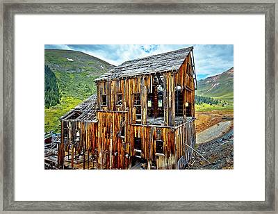 Frisco Mill Framed Print