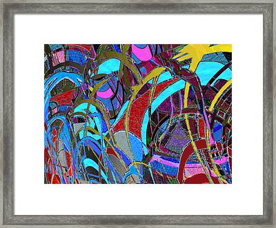Frisk Framed Print by Anne Weirich