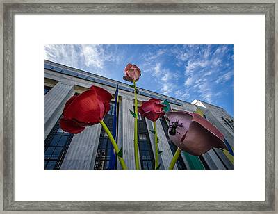 Frist Center For The Arts Framed Print by Mike Burgquist