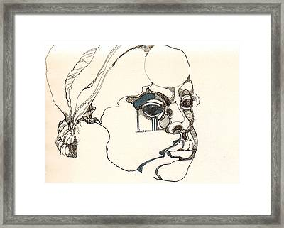Frizano5 Framed Print by Julia Cappiello