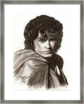 Frodo Framed Print by Maren Jeskanen