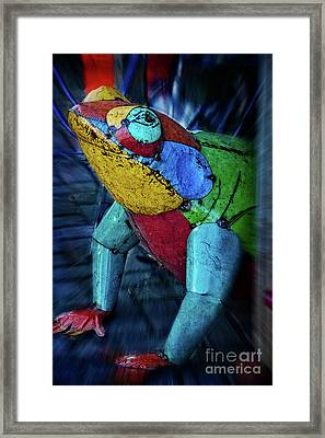 Framed Print featuring the photograph Frog Prince by Mary Machare
