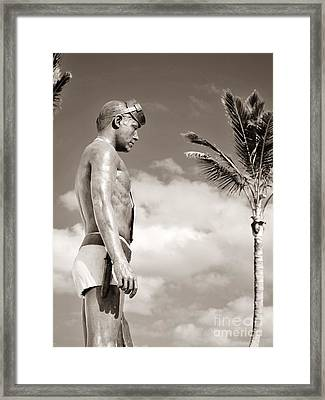 Frogman Tribute  Framed Print