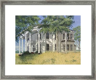 From A By-gone Era Framed Print by Peter Muzyka
