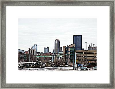 From A Distance Framed Print by Melinda Dominico