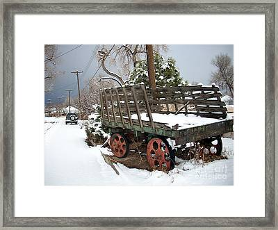 From A Time Gone By Framed Print by Jack Norton