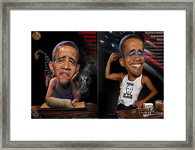 From America With Love  Framed Print