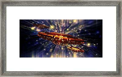 From Another Dimension By Raphael Terra Framed Print by Raphael Terra