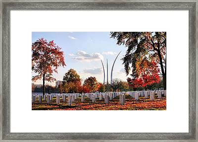 From Arlington Framed Print by JC Findley