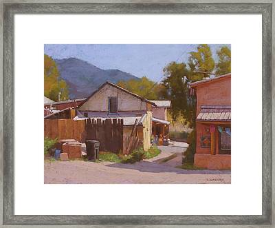 From Arroyo Seco, Nm Framed Print
