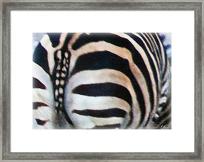 From Behind Framed Print by Hanny Heim