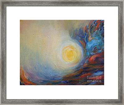 From Brahms' Requiem Framed Print by Leila Atkinson