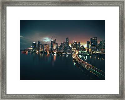from Brickell Key Framed Print