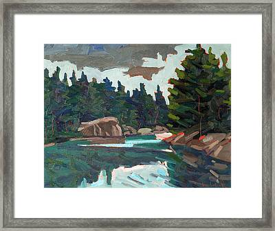 From Buzzard Campsite 423 Framed Print
