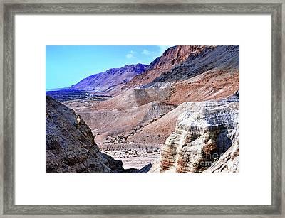 From Desert To Sea Framed Print