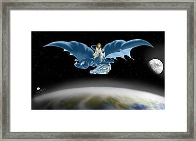 From Heaven To Earth Came Framed Print by Devaron Jeffery