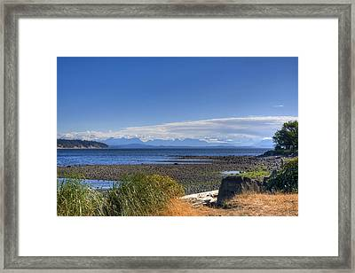 From Here To Eternity Framed Print by Chrissy Gibbs
