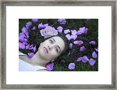 From Here To Eternity Framed Print by Elvira Pinkhas