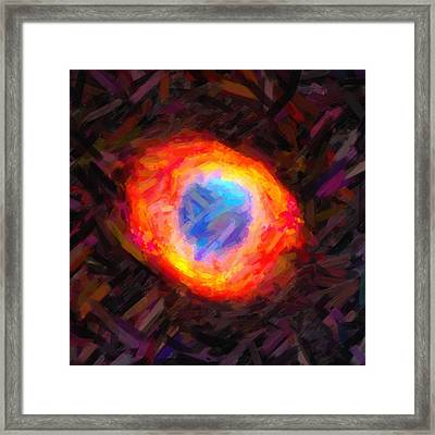 From Here To Hereafter Framed Print