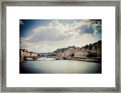 Framed Print featuring the photograph From Here To There by Jason Smith
