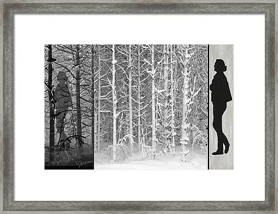 From Here To There Framed Print by Linda Dunn