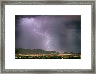 From High Above Framed Print by James BO Insogna