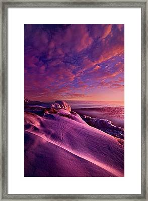Framed Print featuring the photograph From Inside The Heart Of Each by Phil Koch