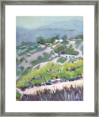 From Jack Smith Trail On A Summer Morning Framed Print